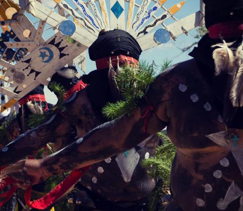 White Mountain Apache Dancers